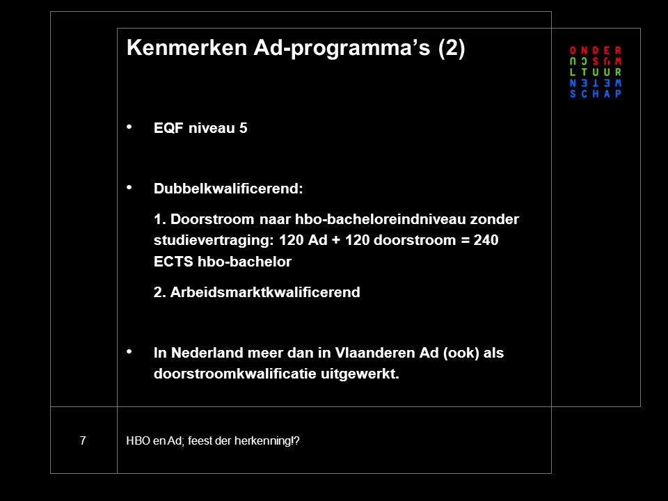 Kenmerken Ad-programma's (3)