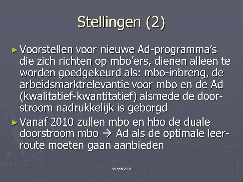 Stellingen (2)