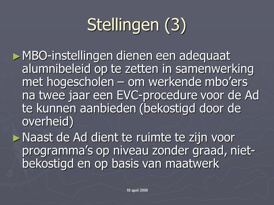 Stellingen (3)