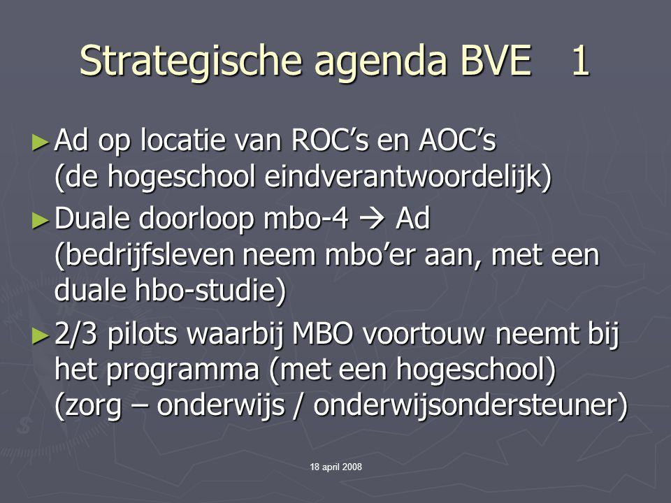 Strategische agenda BVE 1