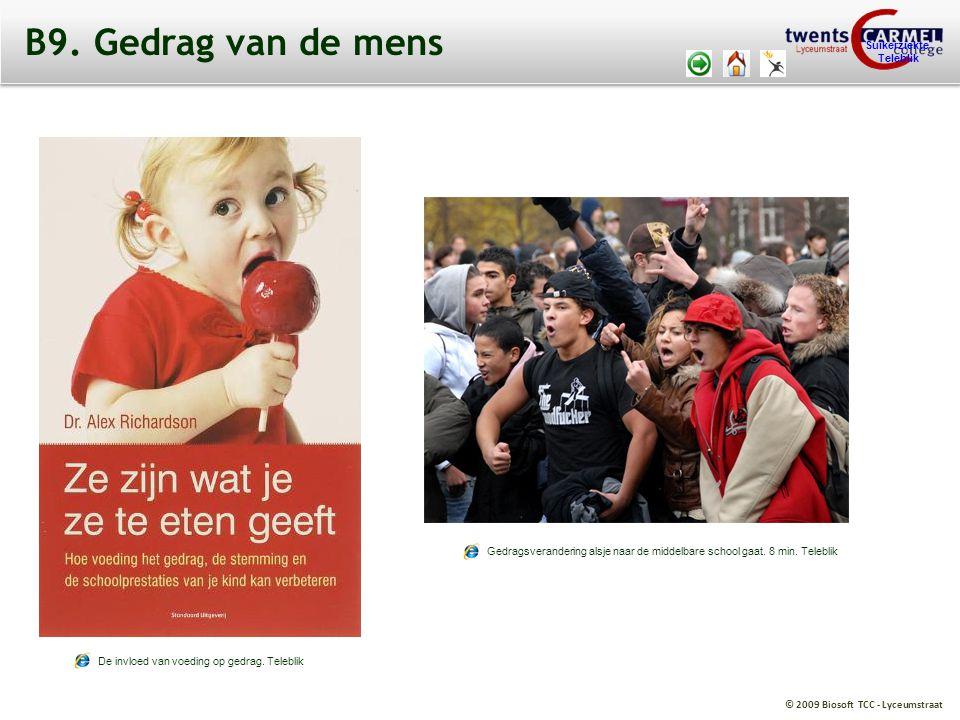 B9. Gedrag van de mens Suikerziekte. Teleblik. http://web.teleblik.kennisnet.nl/tsr/player/vo/fid/2586818.