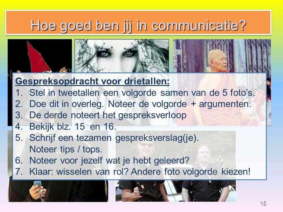 Hoe goed ben jij in communicatie