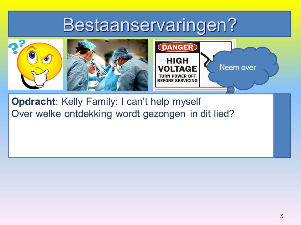 Bestaanservaringen Opdracht: Kelly Family: I can't help myself