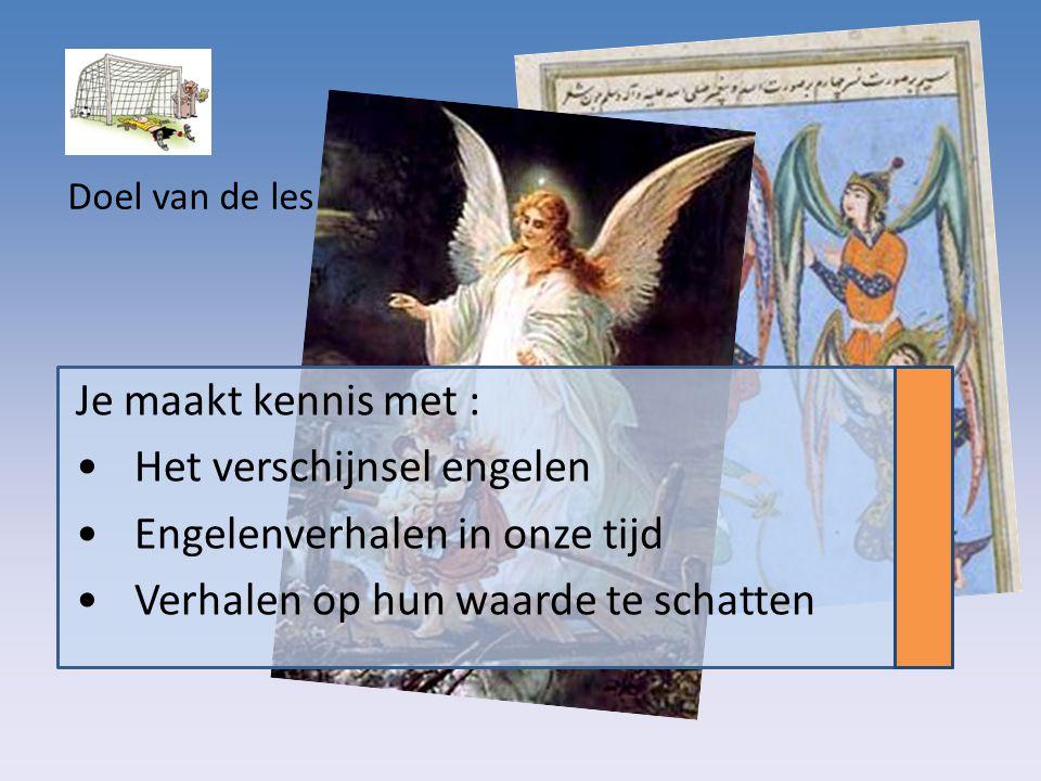 Het verschijnsel engelen Engelenverhalen in onze tijd