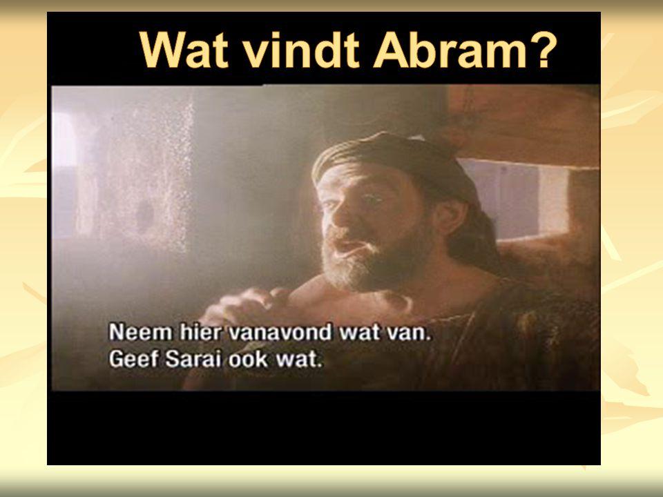 Wat vindt Abram