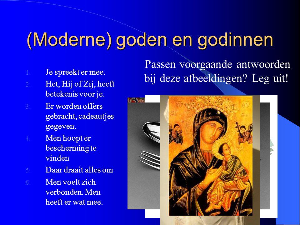 (Moderne) goden en godinnen