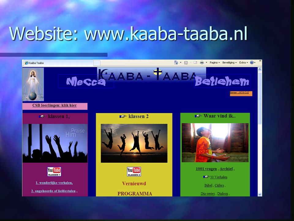 Website: www.kaaba-taaba.nl