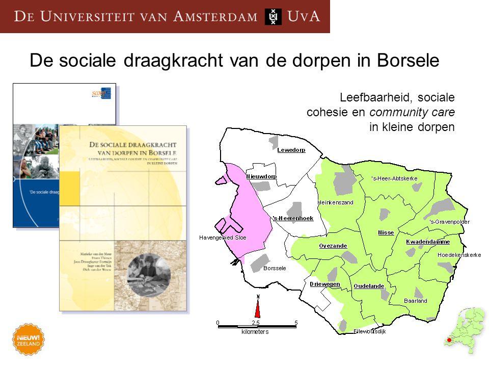 De sociale draagkracht van de dorpen in Borsele
