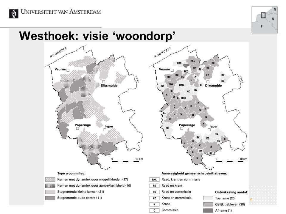 Westhoek: visie 'woondorp'