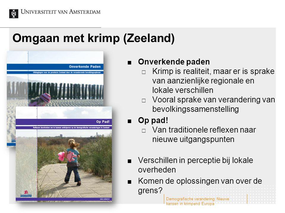 Omgaan met krimp (Zeeland)