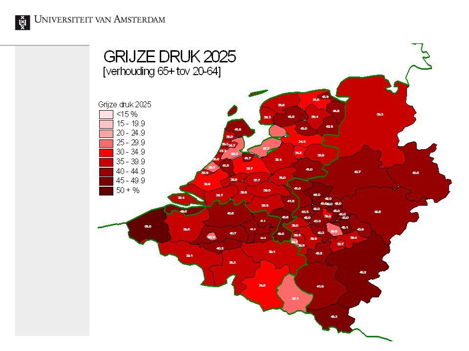 Demografische verandering: Nieuwe kansen in krimpend Europa
