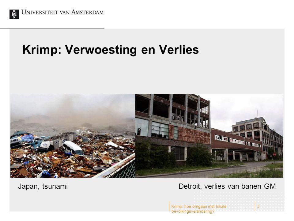 Krimp: Verwoesting en Verlies