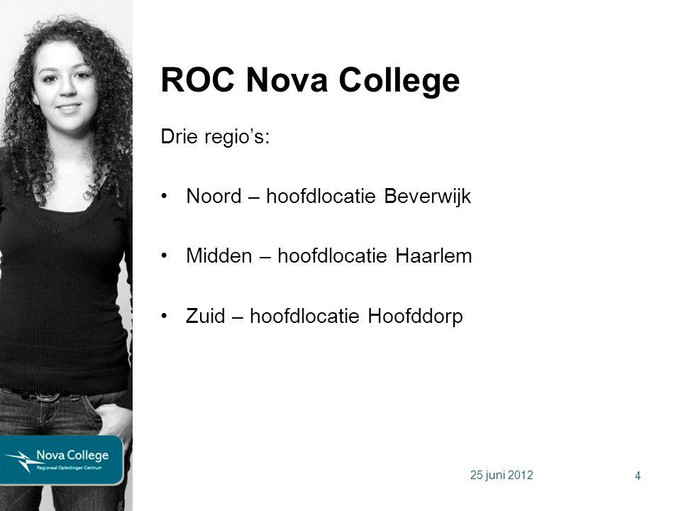ROC Nova College Drie regio's: Noord – hoofdlocatie Beverwijk