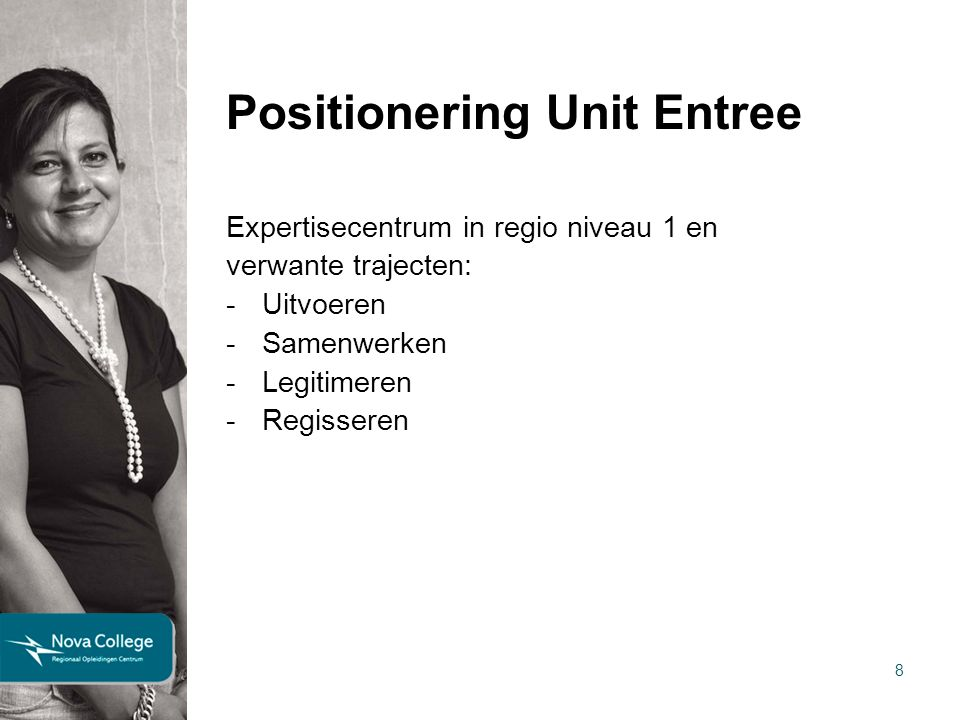 Positionering Unit Entree