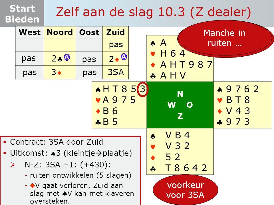 Zelf aan de slag 10.3 (Z dealer)