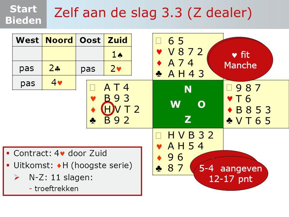 Zelf aan de slag 3.3 (Z dealer)