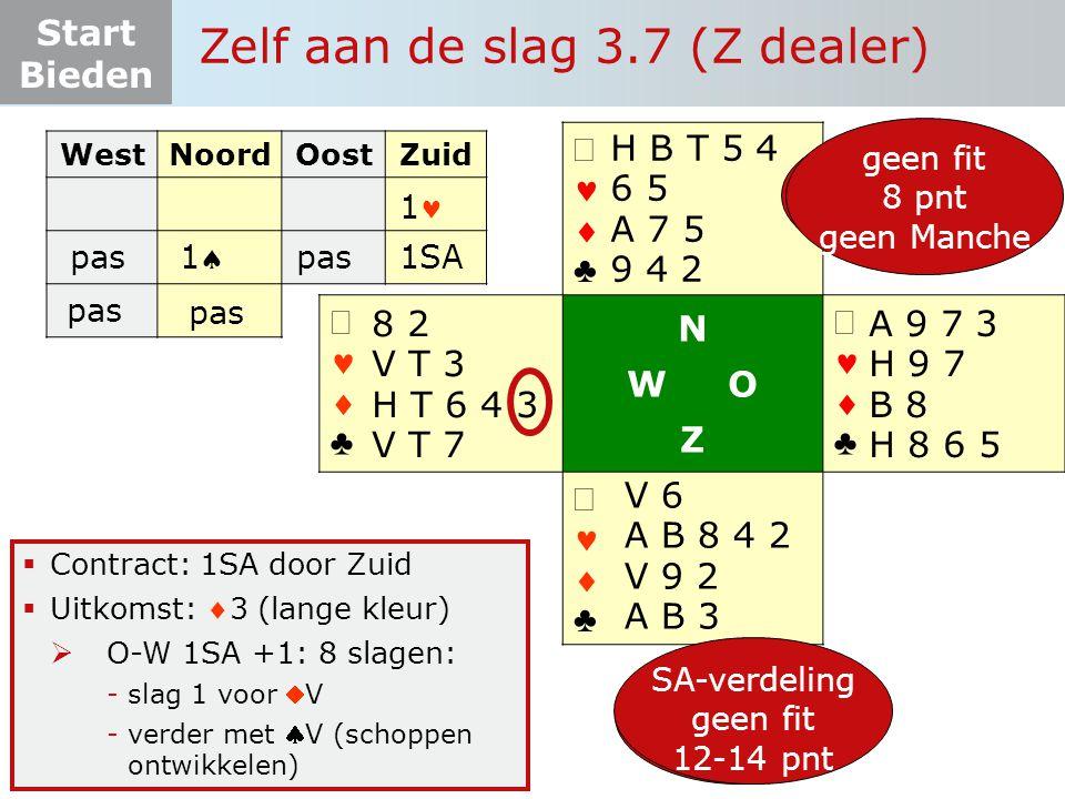 Zelf aan de slag 3.7 (Z dealer)