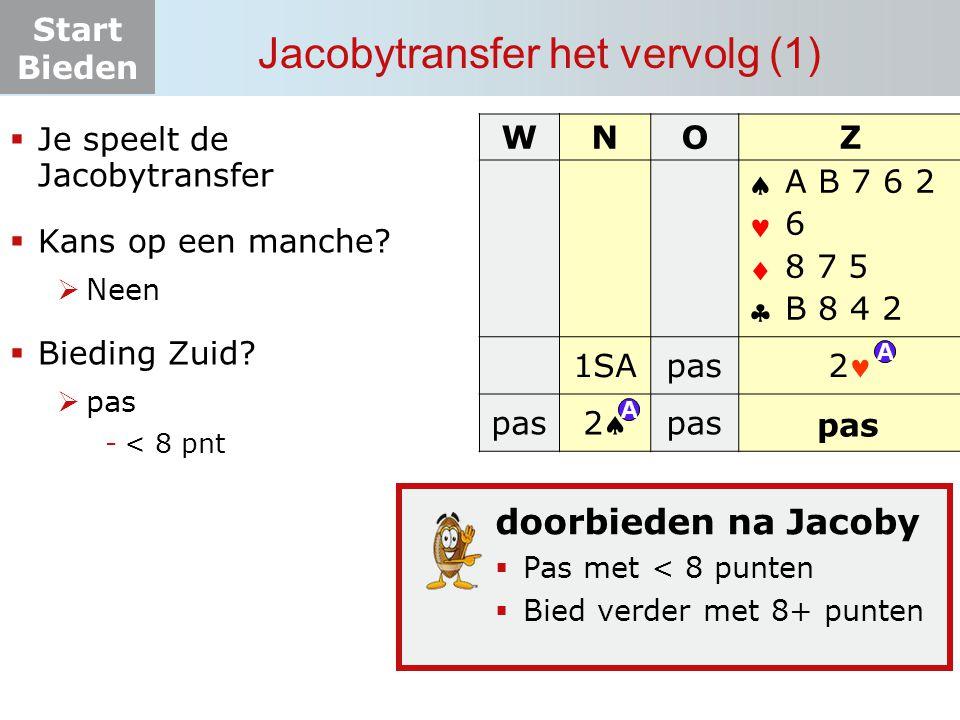 Jacobytransfer het vervolg (1)