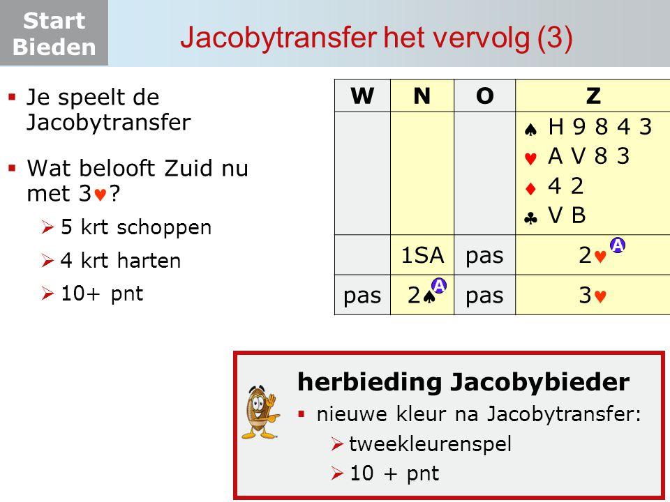 Jacobytransfer het vervolg (3)