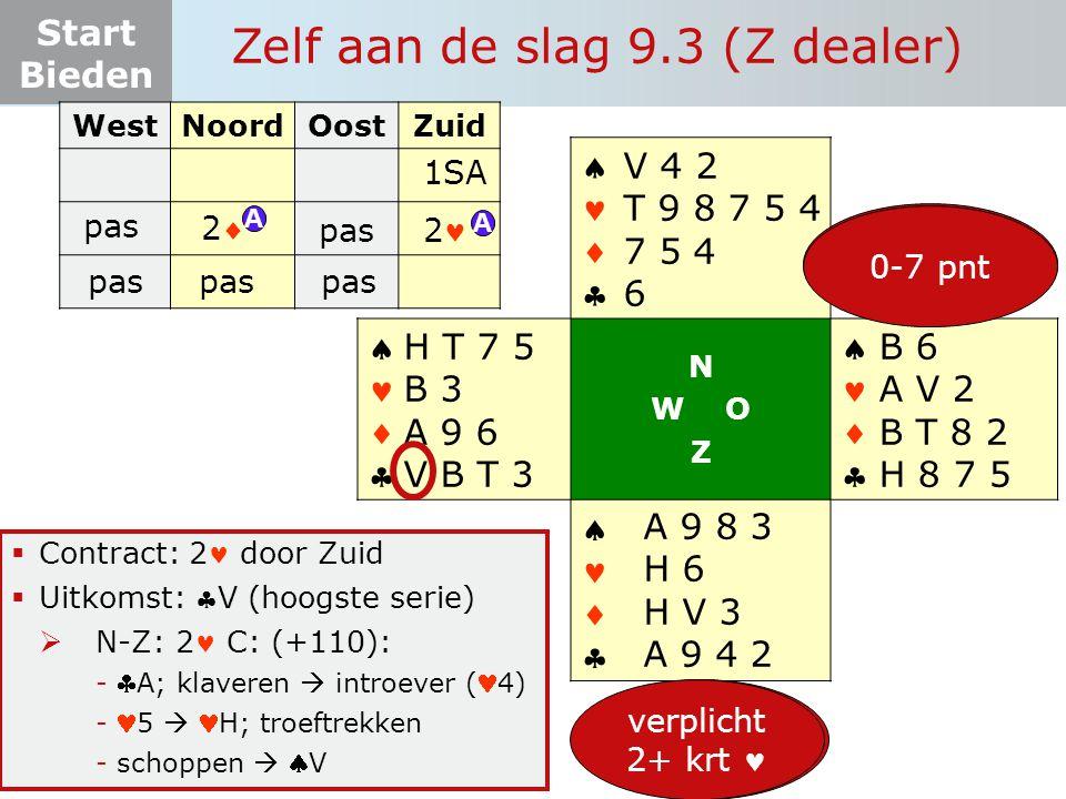 Zelf aan de slag 9.3 (Z dealer)