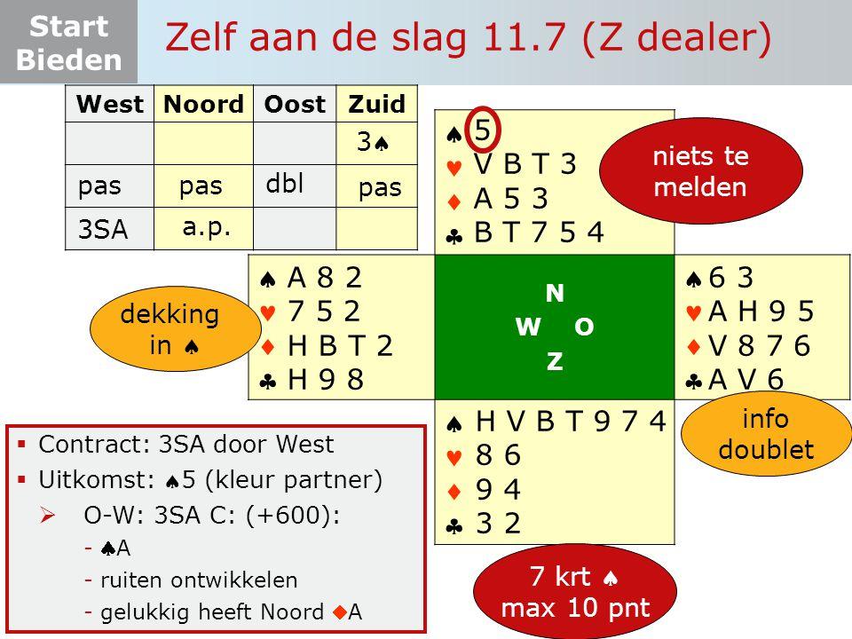 Zelf aan de slag 11.7 (Z dealer)