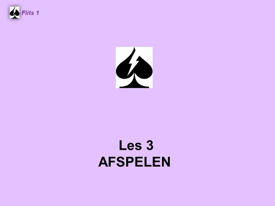 Flits 1 Spel 2. Les 3 AFSPELEN