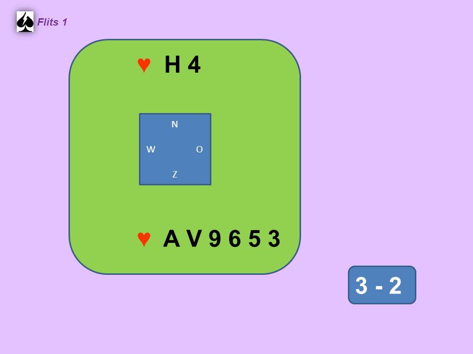 ♥ H 4 Flits 1 N W O Z ♥ A V 9 6 5 3 3 - 2