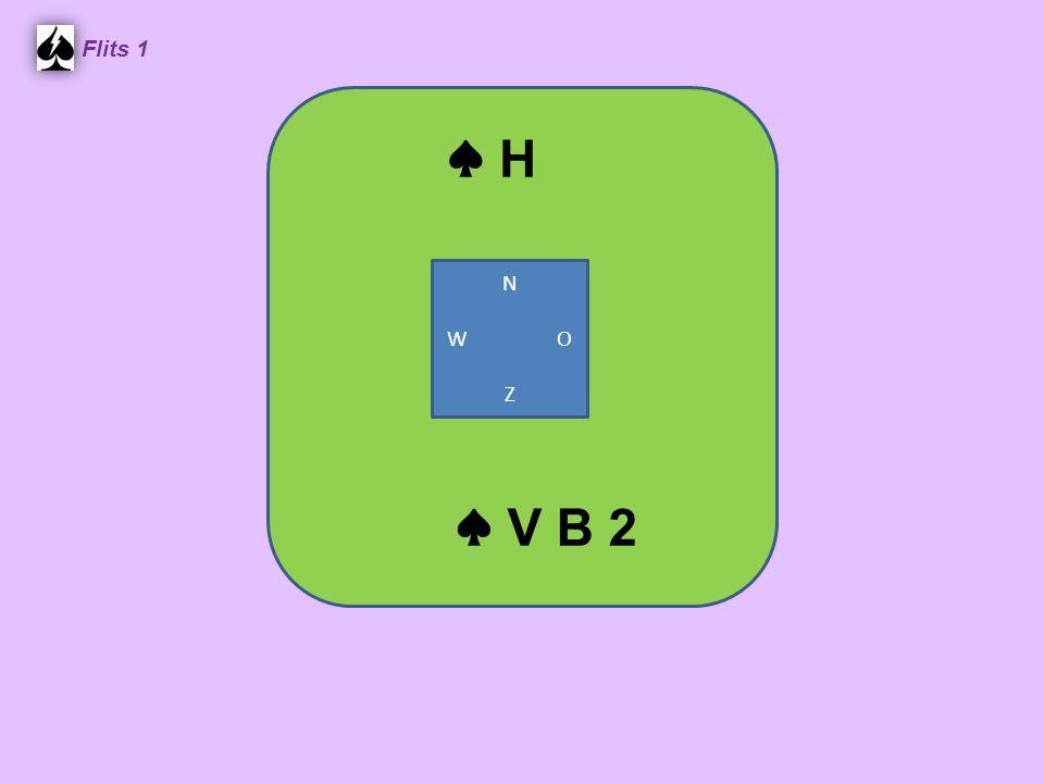 Flits 1 ♠ H N W O Z ♠ V B 2