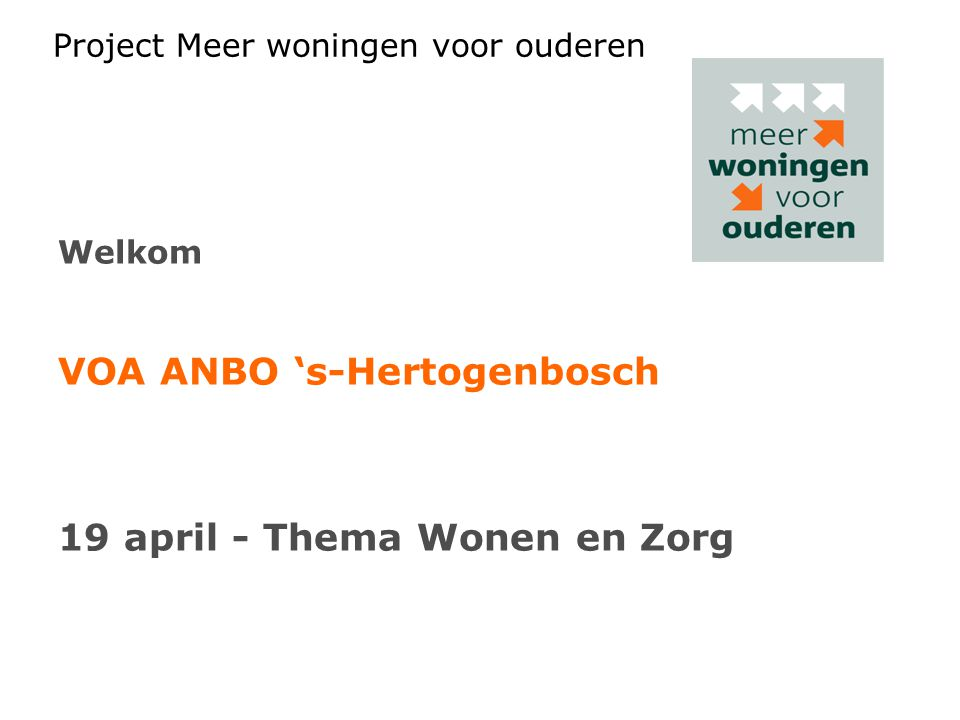 VOA ANBO 's-Hertogenbosch