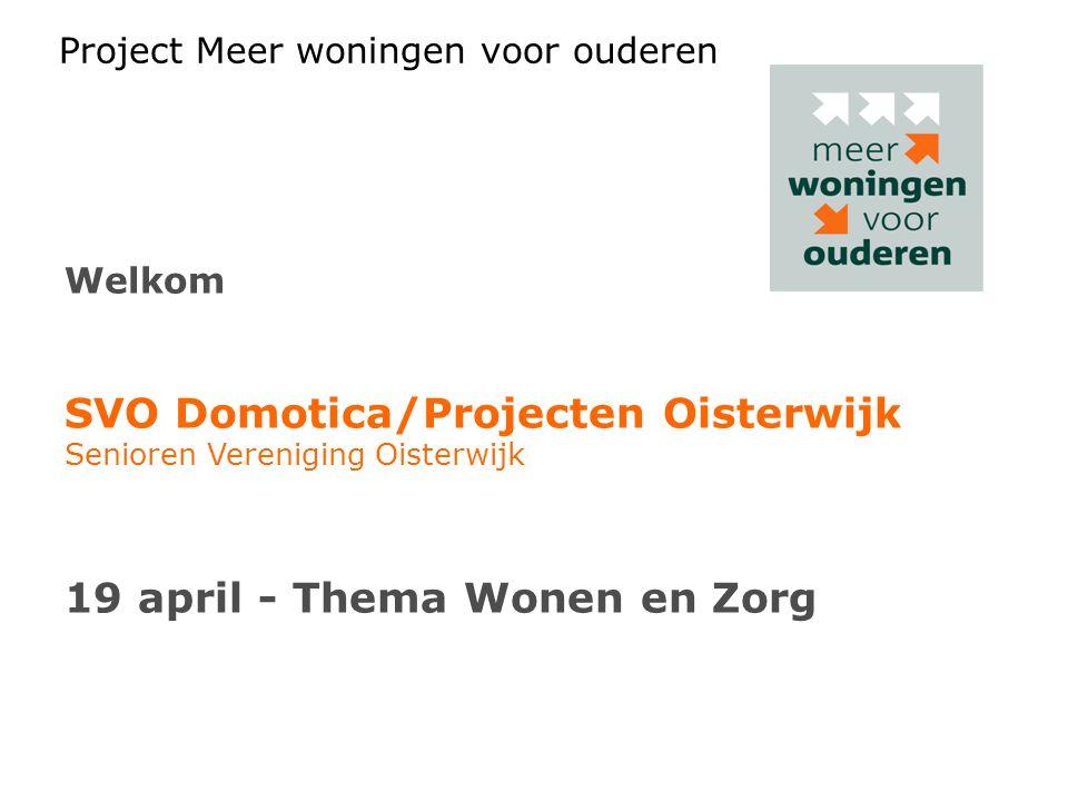 SVO Domotica/Projecten Oisterwijk