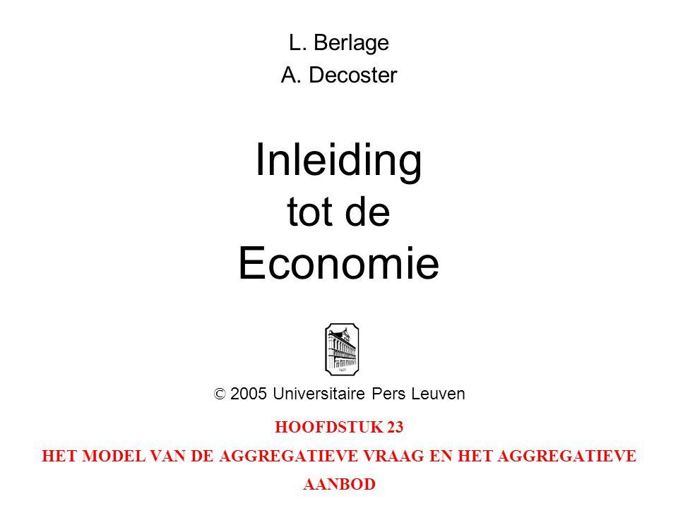 Inleiding tot de Economie
