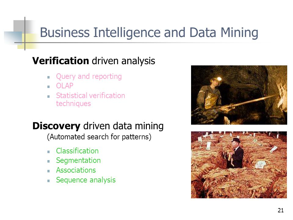 Business Intelligence and Data Mining