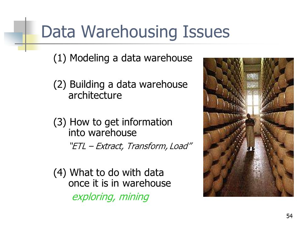 Data Warehousing Issues