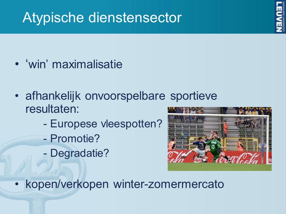Atypische dienstensector
