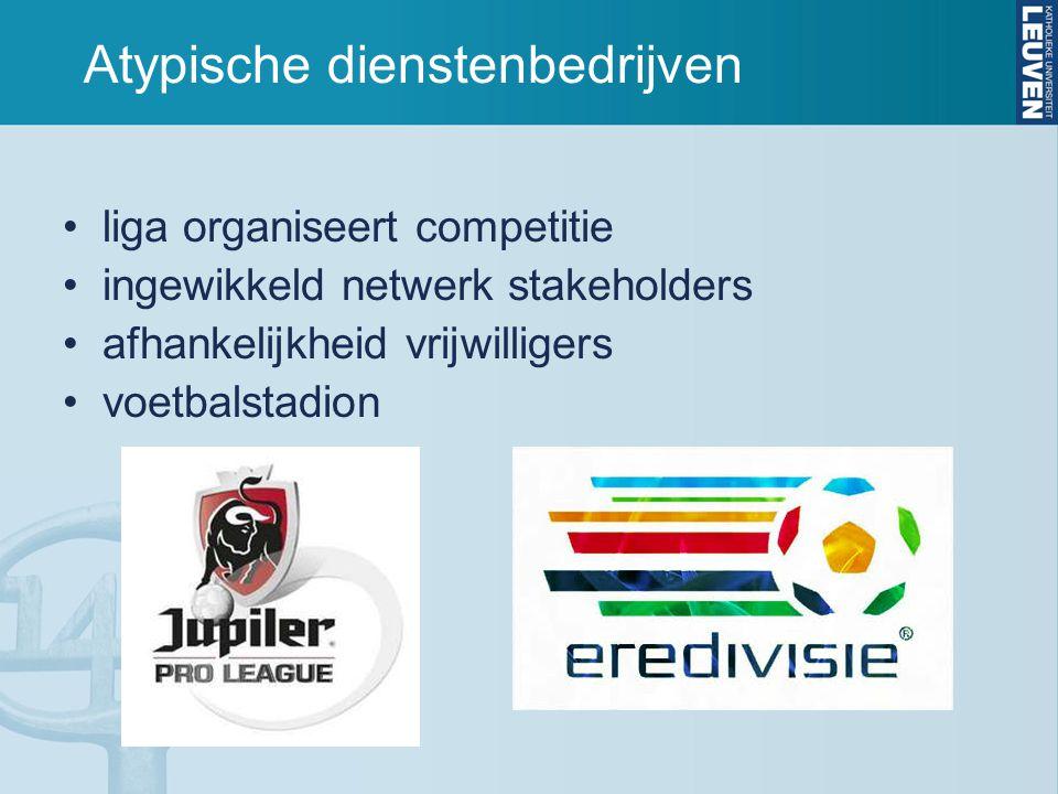 Atypische dienstenbedrijven