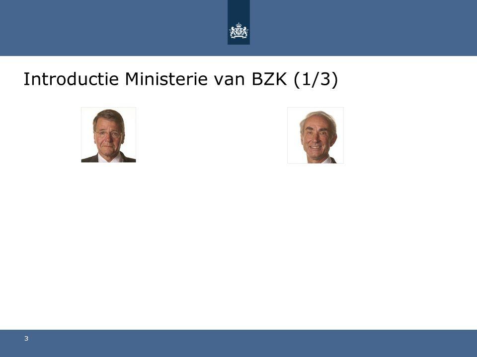 Introductie Ministerie van BZK (1/3)