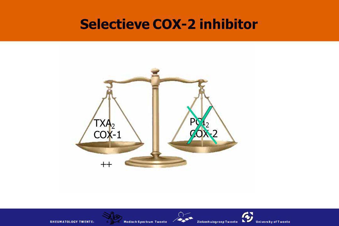 Selectieve COX-2 inhibitor