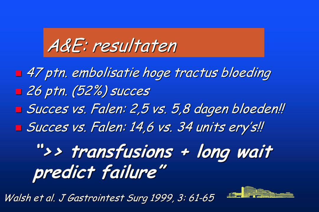 >> transfusions + long wait predict failure