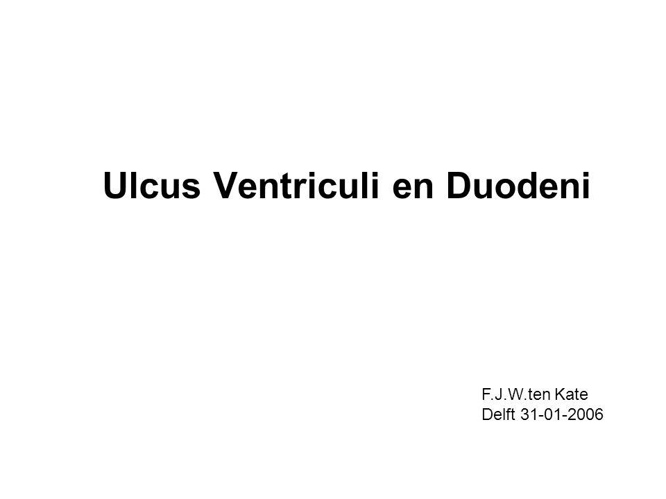 Ulcus Ventriculi en Duodeni