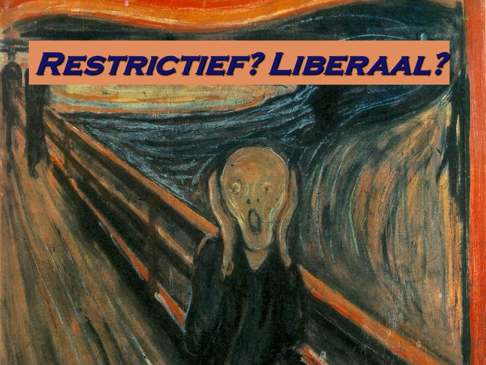 Restrictief Liberaal