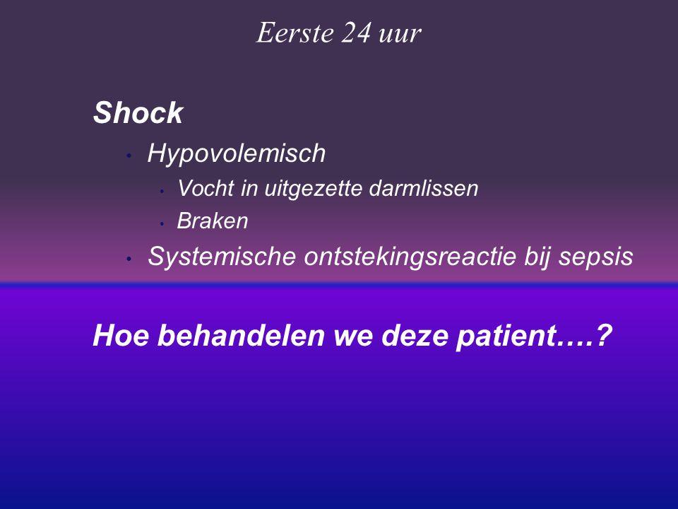 Hoe behandelen we deze patient….