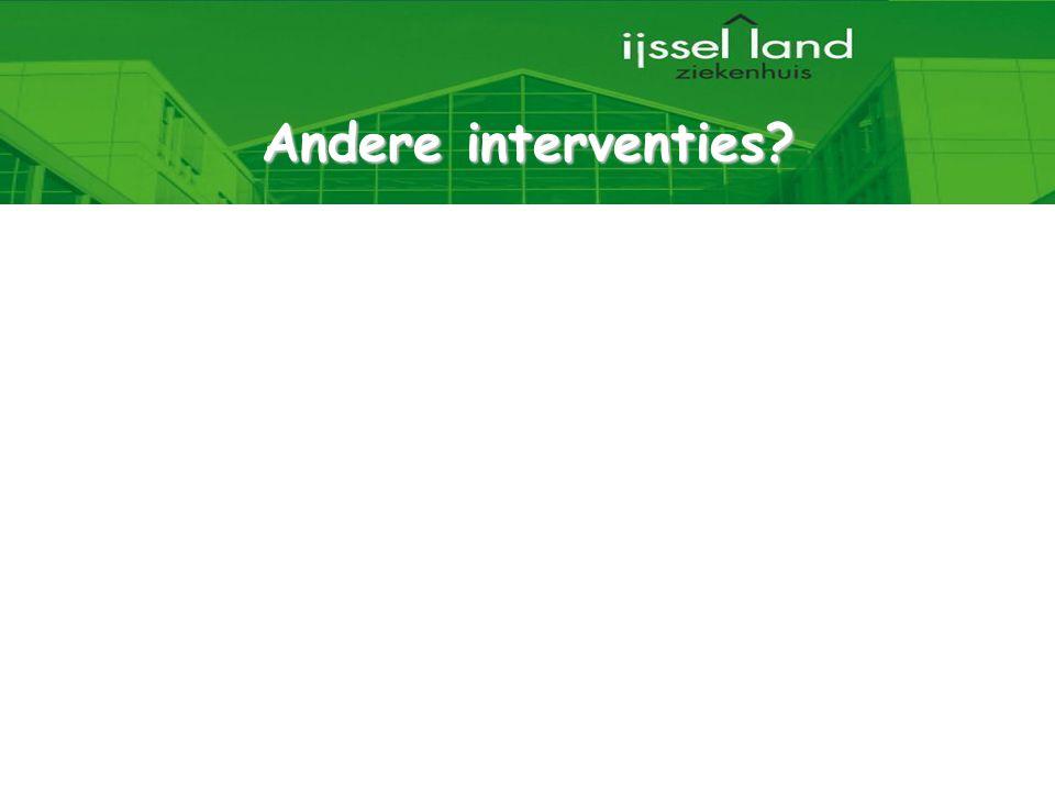 Andere interventies 12