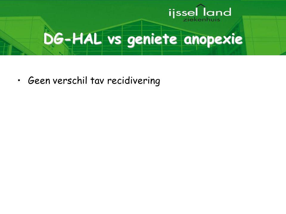 DG-HAL vs geniete anopexie