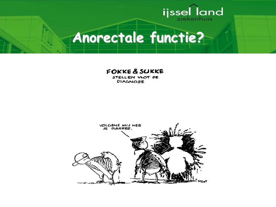 Anorectale functie 35