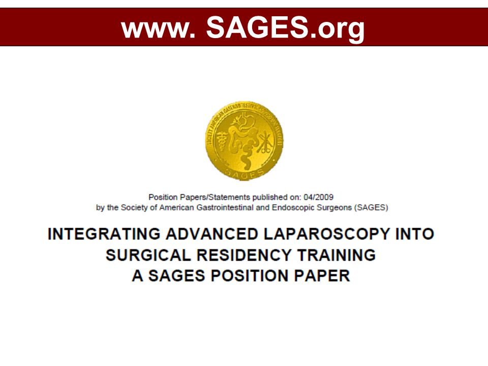 www. SAGES.org