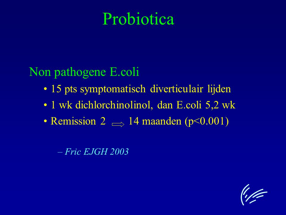 Probiotica Non pathogene E.coli