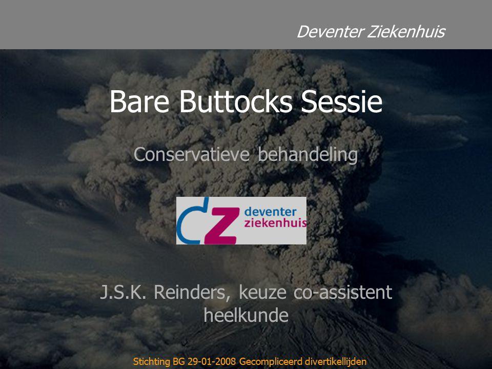 Bare Buttocks Sessie Conservatieve behandeling