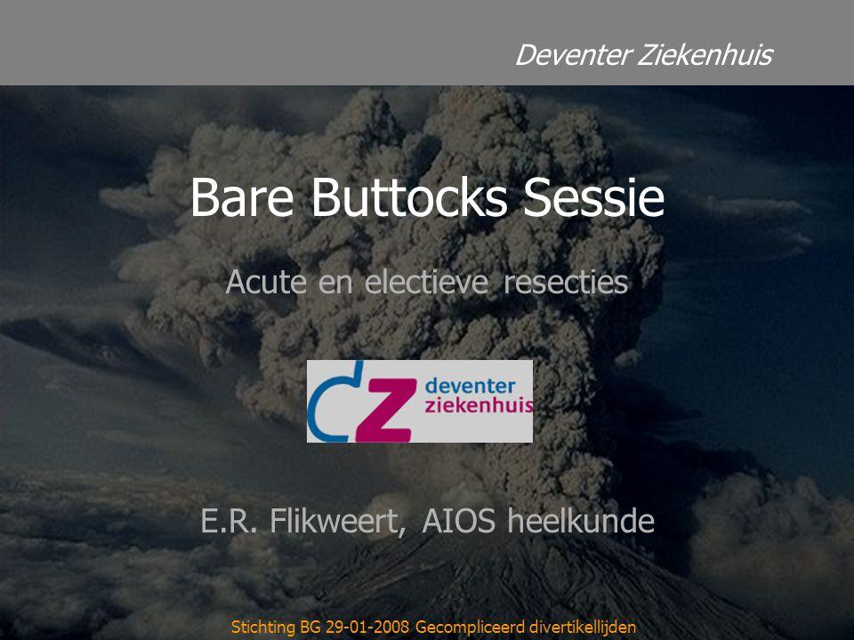 Acute en electieve resecties E.R. Flikweert, AIOS heelkunde
