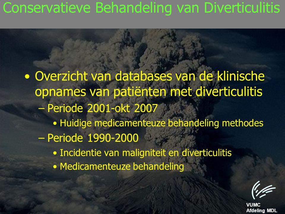 Conservatieve Behandeling van Diverticulitis