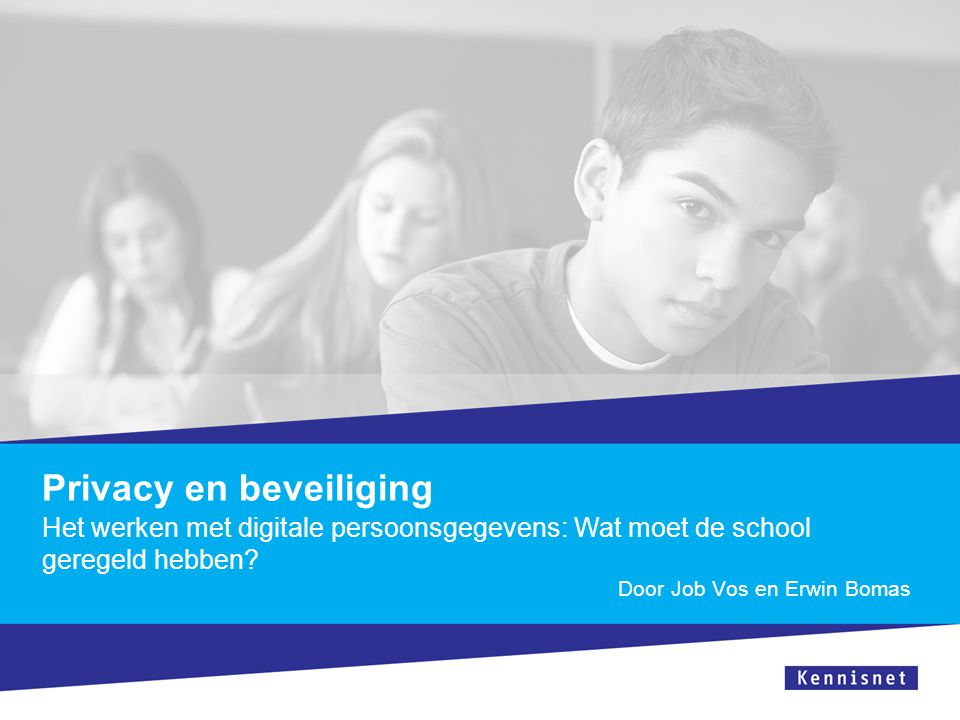 Privacy en beveiliging